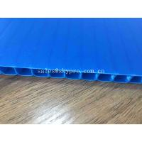 Plastic PP Corrugated Advertising Sign Board Sheets For Flooring Protection Manufactures