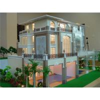 China Fancy Laser Cut Architectural Model , 1 / 35 Scale Small House 3D Model on sale