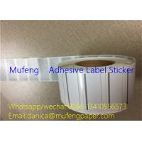 Cardboard Core Thermal Transfer Label Rolls Semi Glossy Paper Adhesive Direct Printed Manufactures