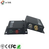 China Mini 3G-SDI Fiber Converter Extender with RS422 and loop out Single Mode Fiber FC Connector 20KM on sale