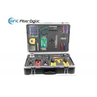 China Customized Fiber Optic Fusion Splicing Cable Construction Tool Kits AC 6300 on sale