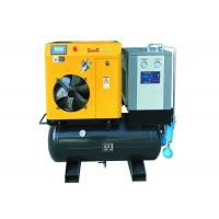 Electric AC Power 15hp Combined Screw Air Compressor Moveable Manufactures