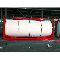 Insulated Liquid Tank Container / Horizontal 20ft ISO Tank Container Manufactures