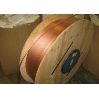 Custom Length Copper Coil Tubing / Pancake Coil Copper Pipe 0.1 - 200mm Wall Thickness Manufactures