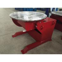 China Red Painting Elevating Welding Positioner Motorized Pipe Turning 360° Rotating on sale