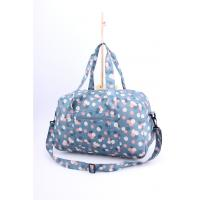 Bright light weigh beautiful flower printing cute luggage for girls Manufactures