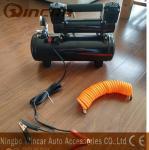 Double 30mm Cyclinder 12V Portable Air Compressor 8 Bar Max Pressure Manufactures