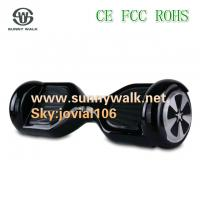China Latest Mini Two Wheel Smart Self Balancing Electric Scooter with LED light on sale