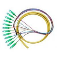 China Fanout Fiber Optic Patch Cord SM MM Distribution Cable And Ribbon Cable Type on sale