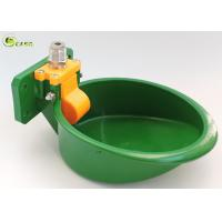 Automatic Nylon Pig Water Bowl / Animal Goat Water Bowl Green Color Manufactures