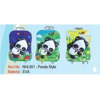 Kids Rolling Suitcase Hard Case , Personalized Childrens Luggage 1.26KG Manufactures