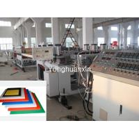 PVC crust foam board production line Manufactures