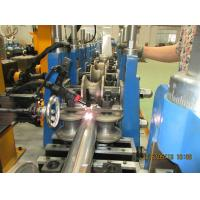 Color Steel Sheet Round Downspout Machine 3.5Kw Gutter Roll Forming Machine for sale