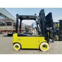 2 Stages / 3 Stages 4T Electric Forklift Truck Full AC Power With Side Shifter Manufactures