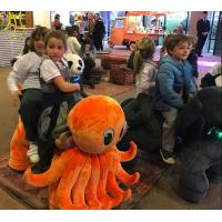 China Hansel amusement park moving kids indoor rides electric mountable animals on sale