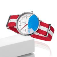 Quality Single Needle Children Nylon Strap Watch For Swimming for sale