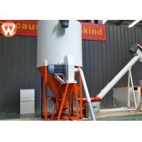 Low Noise Poultry Feed Mixer Machine 7.5 Kw * 2.2 Kw Mixing Uniformity CV ≤ 10% Manufactures