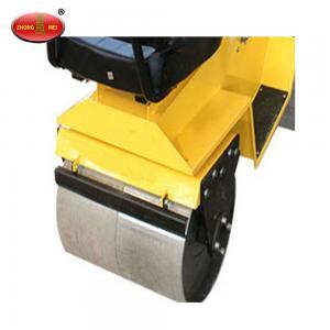 China ZM-50C Gasoline Hand Push Hydraulic Dual Wheel Drum Road Roller on sale