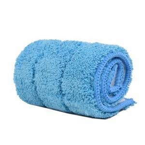 Blue 380gsm Microfiber Wet Mop Pads , Pocket Shaped Multifunctional Mops Manufactures