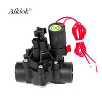 "Water Proof Landscape Irrigation Valves 3/4"" Pilot Operated Diaphragm Structure Manufactures"