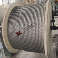 China 7x37 Stainless Steel Rope 14mm AISI ASTM 304 316 on sale