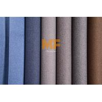 100% Polyester Flexible Upholstery Velboa Fabric For Chairs Two Tone Effect Manufactures
