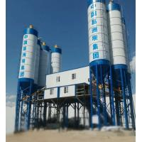 Double Concrete Batching And Mixing Plant , 4 Grids Bin Ready Mix Cement Plant Manufactures