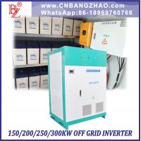 200kw 3 Phase 415V Pump Inverter with Variable Frequency Starting Manufactures