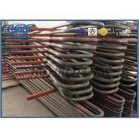 Power Station Boiler Superheater And Reheater , Energy Saved Heat Exchanger Manufactures