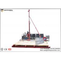 China Portable Full Hydraulic Core Drill Rig 300m Dill Depth For Geological Exploration on sale