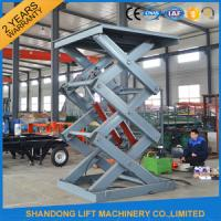 2 Ton 3m Hydraulic Elevator Lift , Warehouse Lift Platform For Cargo Lifting Manufactures