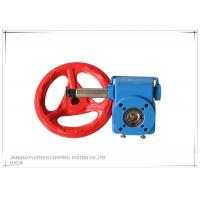 Blue Square Hole Valve Wheel Handle / Cast Iron Valve Handle With Special Grease Manufactures