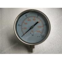 6 Inch All Stainless Steel Liquid Filled Pressure Gauge with Shrink Bezel Manufactures