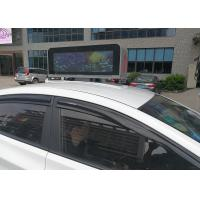 High Brightness Taxi Top Led Display Advertising With Digital Led Panels Manufactures