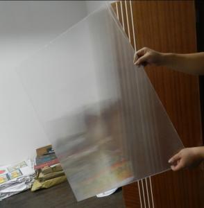 OK3D 20LPI Lenticular PS sheet standard size 1.2*2.4m 3mm thickness for 3d flip effect lenticular printing Manufactures