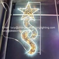 Christmas Pole Mounted Light, Led Street Motif Light Manufactures