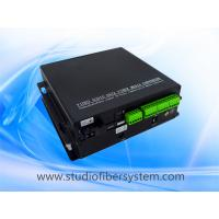 8CH stereo audio over fiber extenders with Phoenix interface for 8CH digitally encoded stereo audio to 10~120KM Manufactures