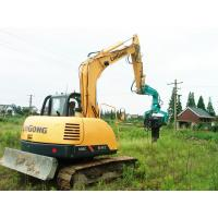 High Performance Mini Pile Driver , Small Pile Driver Short Working Period Manufactures