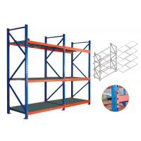 Easy Assembly Heavy Duty Storage Shelves , Metal Shelving For The Garage Manufactures