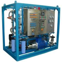 380 - 7600 GPD Reverse Osmosis Water Systems , Sea Water Desalination Systems Manufactures