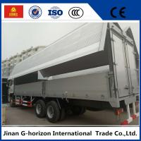 sinotruk howo 10 wheelers 336hp side open wingvan cargo truck Manufactures