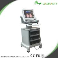 China HIFU face lift ultrasound therapy machines for Rejuvenation skin , Removal double chins on sale
