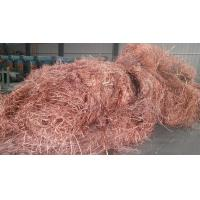supply copper wire scarps in high purity min purity is 99.95% shining brass ,colour yellow material metal Manufactures