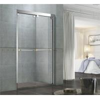 Chromed Finished Stainless Steel Shower Enclosures Double Sliding With Frames and Accessories Manufactures