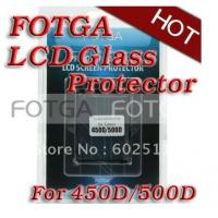 Pro Optical Digital Camera LCD Screen FOTGA Glass Protector for GGS canon EOS 450d/500d Manufactures