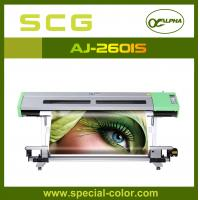 Large Format Eco Sovlent Inkjet Printer With 2 Epson DX5 Printheads Manufactures