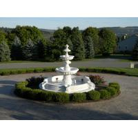 China Stone carving fountain white marble carving sculpture,stone carving supplier on sale