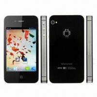Smartphone with MTK6575 chip, 1GHz, Google Android 4.0 OS, dual camera, SIM card and standby Manufactures