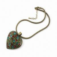 Necklace, Made of Alloy, with Decoration and Fashionable Design, Available in Various Designs Manufactures