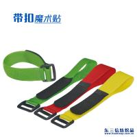 Buy cheap Customized Size Adjustable Hook And Loop Fastener Straps With Plastic Buckle from wholesalers